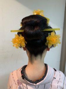 水本様 日本髪