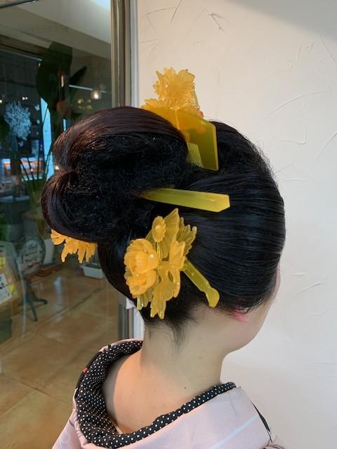 水本様 日本髪1